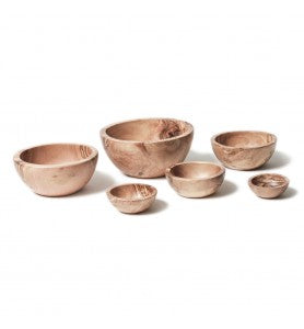 Bérard Olivewood Bowls, Set of 6