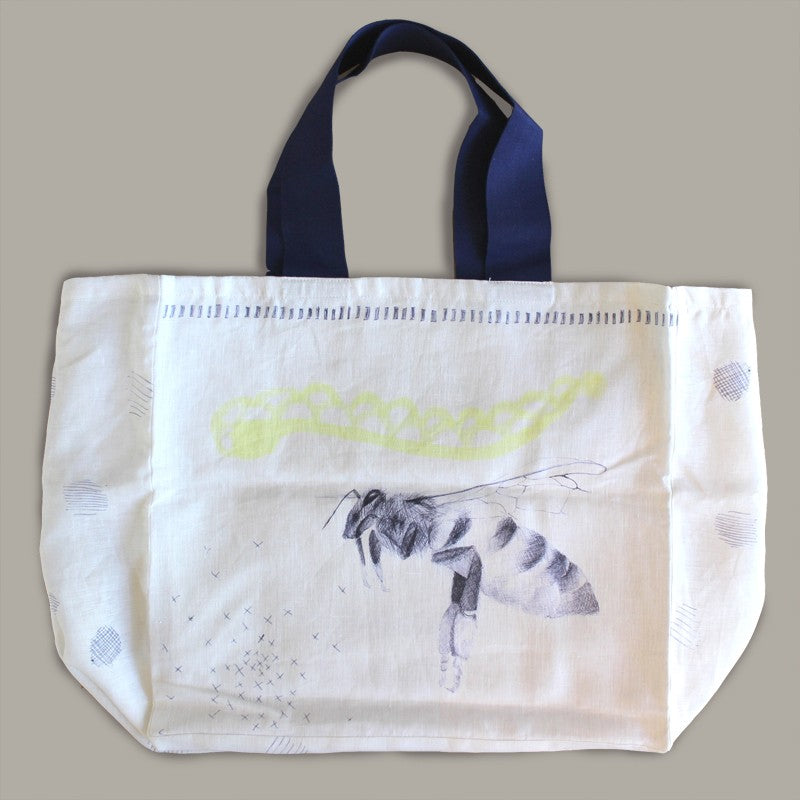 Le Pompon L'Abeille Shopping Bag Collection, 2 pieces