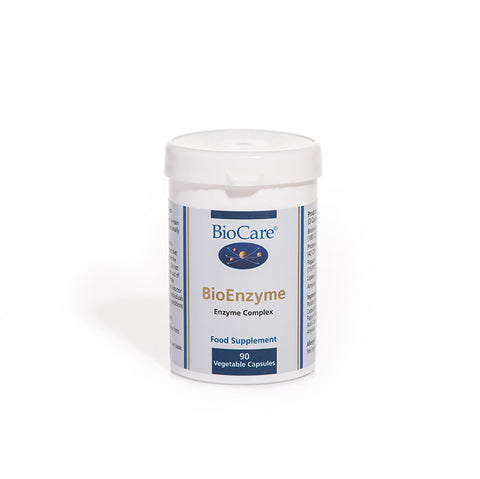 Biocare BioEnzyme 90 Capsules (Formerly Digestaid)