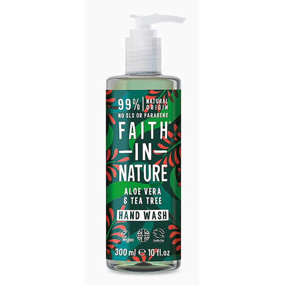 Faith in Nature Aloe Vera & Tea Tree Hand Wash 300ml