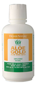 Aloe Gold Aloe Vera Juice Natural 1 litre