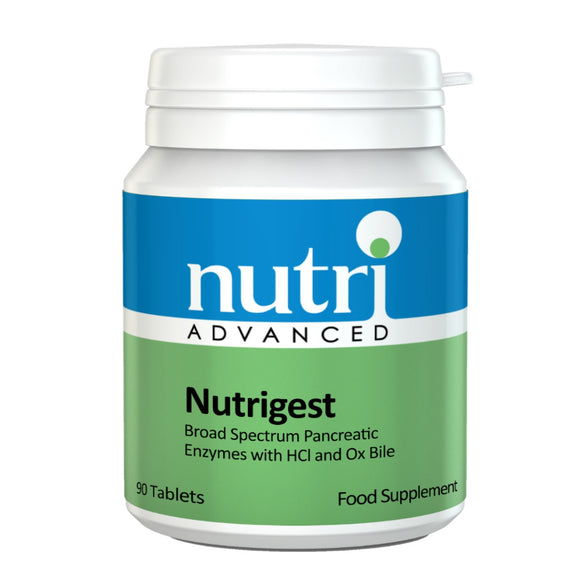 Nutri Advanced Nutrigest Digestion Tablets - 90 Tabs