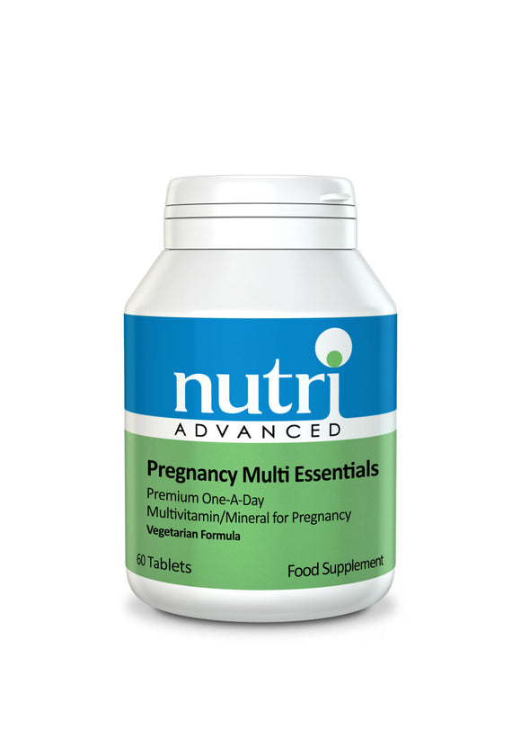 Nutri Advanced Pregnancy Multi Essentials Multivitamin - 60 Tablets