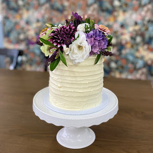 Fresh Floral Cake from Sweet Creations NZ