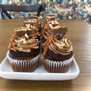 Snickers Cupcakes from Sweet Creations in Marlborough, NZ