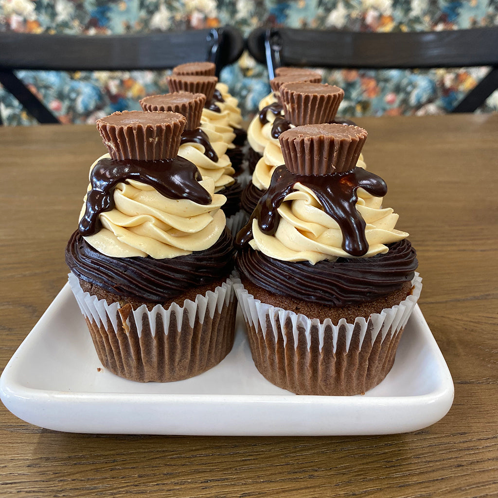 Chocolate Peanut Butter Cupcakes from Sweet Creations in Marlborough