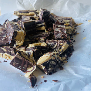 Chocolate Peanut Swirl Fudge by Sweet Creations, Blenheim, New Zealand