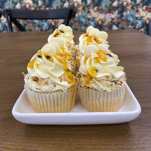 Coconut and Passionfruit Cupcakes from Sweet Creations in Marlborough, NZ