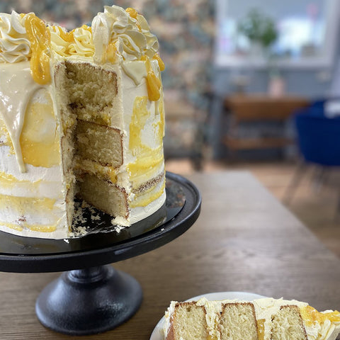 Lemon Meringue cake by Sweet Creations, Blenheim, New Zealand