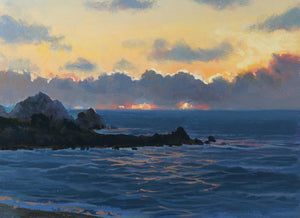 """Pedro Point Sunset 2"""