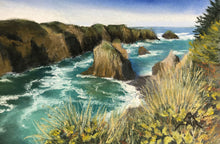 "Load image into Gallery viewer, ""Mendocino Headlands View"""
