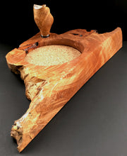 Load image into Gallery viewer, Big Leaf Maple Wine Caddy with Stopper