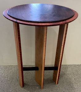 """Oval Side Table"""