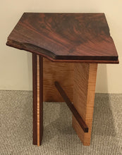 "Load image into Gallery viewer, ""Claro Walnut & Curly Maple Table"""