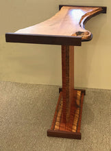 "Load image into Gallery viewer, ""Acacia & Silver Maple Table with Walnut Accents"""