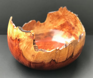 """Live Edge Redwood Bowl"""