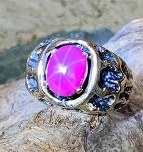 """14kt Ruby Star Sapphire Ring"""