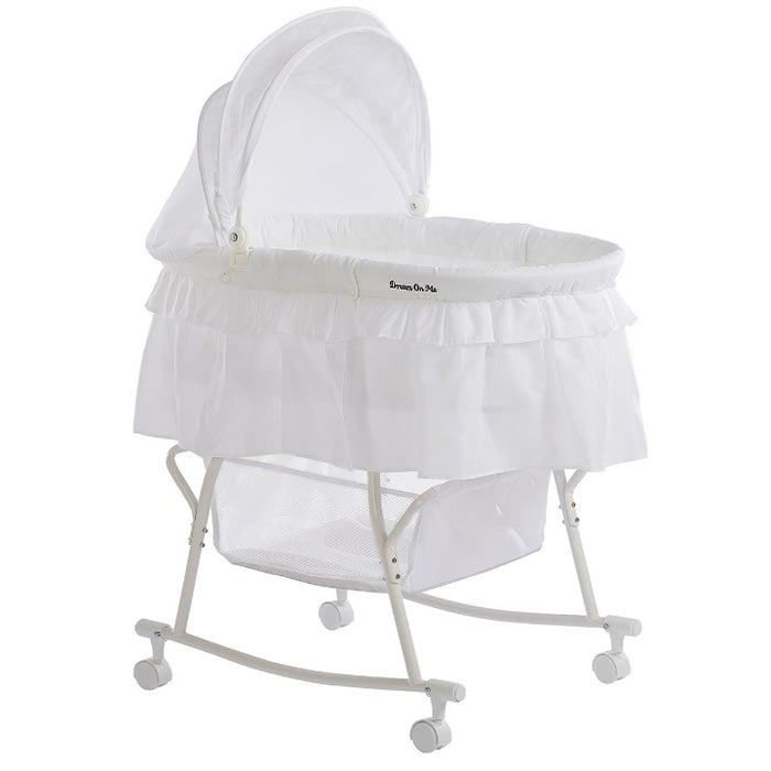 DOM Lacy Portable 2 in 1 Bassinet & Cradle