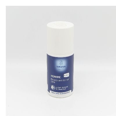 Deodorant Roll-On 24H Homme Weleda.