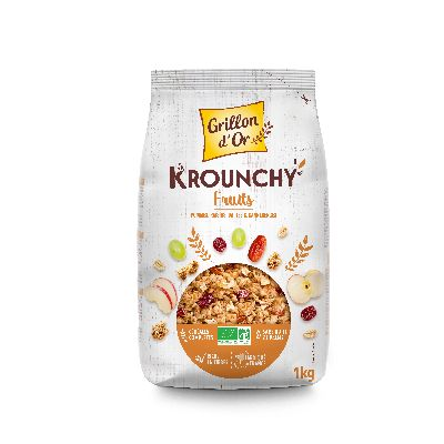 Krounchy Familial Fruits Kg Grillon Or