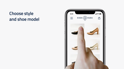 Korean startup KADA:KUDU introduces virtual fitting solution for women's shoes