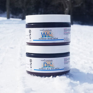 Outdoor Dry Skin & SPF45 Wind Salve Combo