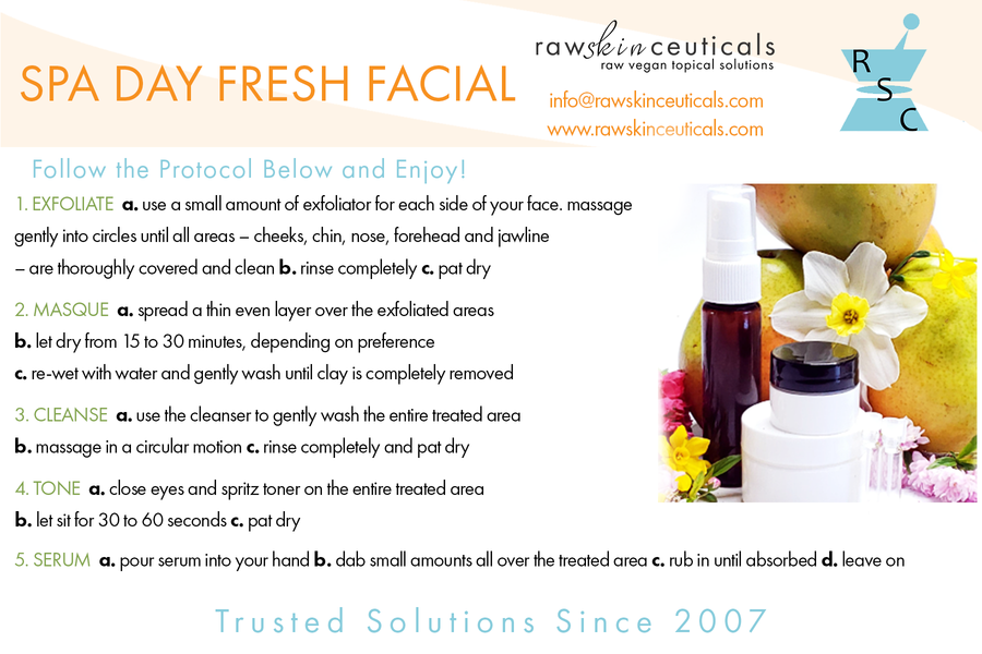 Citrus Blast: Invigorating Facial