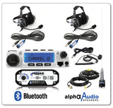 RRP696 2-Place Intercom with 60 Watt Radio and BTU Headsets