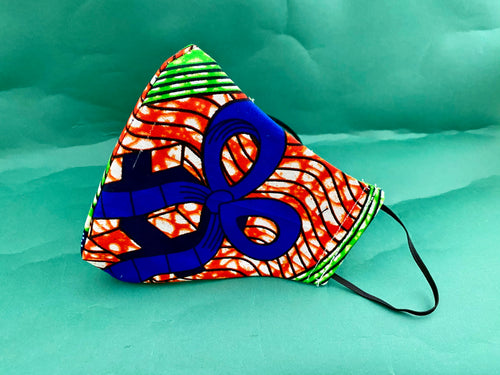 BLUE RIBBON  PRINT MASK