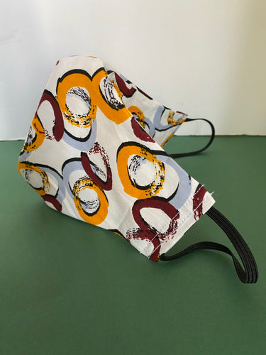 CIRCLES JOY PRINT MASK