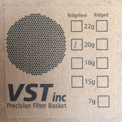 VST PRECISION FILTER BASKETS
