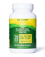 Load image into Gallery viewer, Sunsoil Full Spectrum Vegetarian Capsules