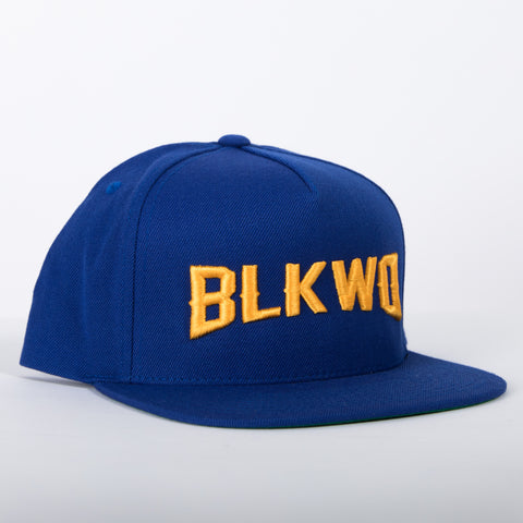 Blkwd Hat - R.Blue/Gold
