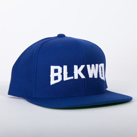 Blkwd Hat - R.Blue/White