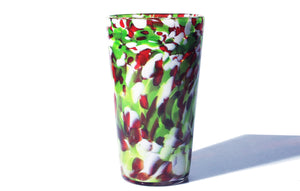 Hand Blown Pint Glass - Holiday Mix