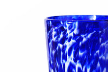 Load image into Gallery viewer, Hand Blown Pint Glass - Cobalt Wisp