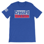 PREMIUM TEE - Logo CrossFit Black Side