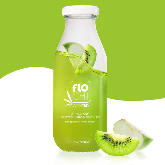 CBD Apple Kiwi Juice