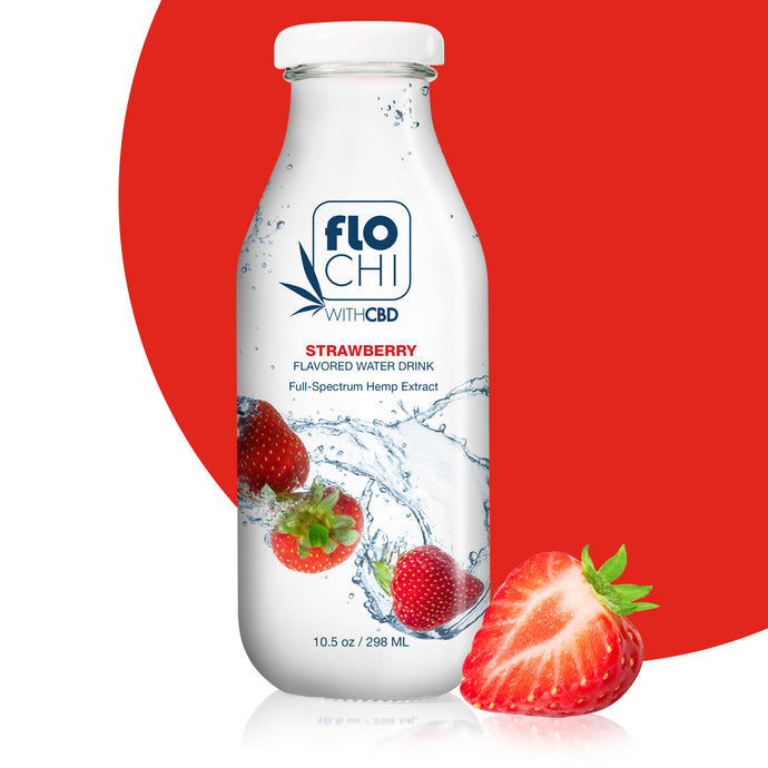 CBD Strawberry Flavored Water