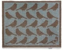 """65cm x 85cm (HUG RUG Animal 20 Brown Birds) THE BEST QUALITY Machine Washable, Dirt Trapper Door Mat"""
