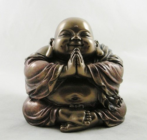 'Pudai' Laughing Lucky Happy Buddha Koi Bonsai Feng Shui 'Ho-Tei' Buddhism