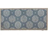 """65cm x 150cm (HUG RUG HOME 15 Blue Flower) THE BEST QUALITY Machine Washable, Dirt Trapper Door Mat / Runner"""