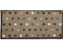 """65cm x 150cm (HUG RUG Multi-Coloured Spot) THE BEST QUALITY Machine Washable, Dirt Trapper Door Mat"""