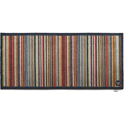 """65cm x 150cm (HUG RUG STRIPE 32) THE BEST QUALITY Machine Washable, Dirt Trapper Door Mat /Runner"""