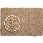 """80cm x 150cm (HUG RUG Sand Stone Design) THE BEST QUALITY Machine Washable, Dirt Trapper Door / Runner Mat"""