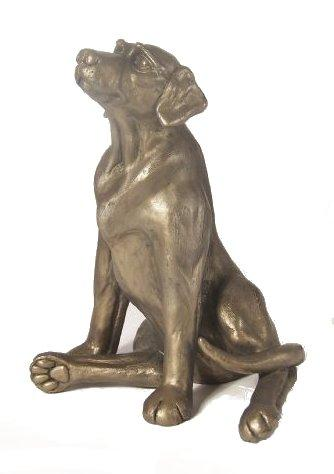 'Archie' Bronze Dog Sculpture by Harriet Dunn