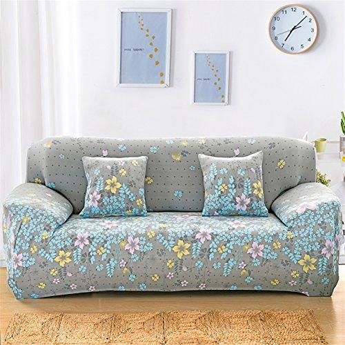 Duoguan 3 Seater Sofa Slipcover Elastic Fabric Sofa Protector Washable Easy  Fit Couch Cover