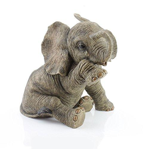 """MISSING YOU""! VERY LARGE ELEPHANT WITH TEAR DROP - FROM THE OUT OF AFRICA COLLECTION"