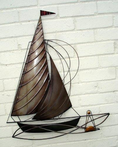 """Sail Away"" - Metal Wall Art - Suitable for Indoor or Outdoor Use"