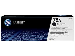 HP 78A (CE278A) Black Original LaserJet Toner Cartridge (2100 Yield)